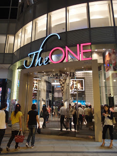 """The One""-Japanese fashion department store  in HK"