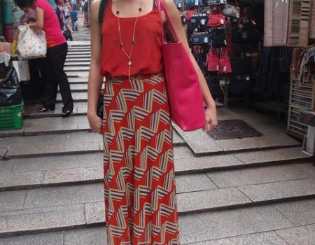 Meetig a great fashion blogger on the street 香港ブロガーとの偶然で必然の出会い