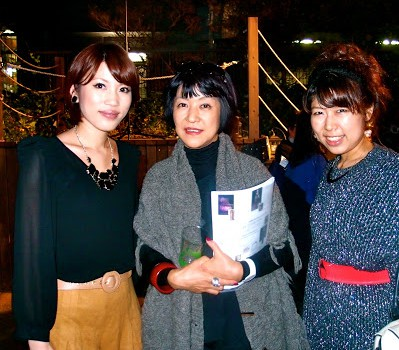 生駒芳子さんと With Fashion Journalist,Ms. Yoshiko Ikoma