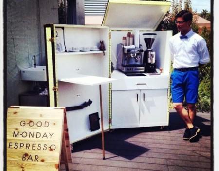 Good Monday Espresso Barのスタイリングお手伝い
