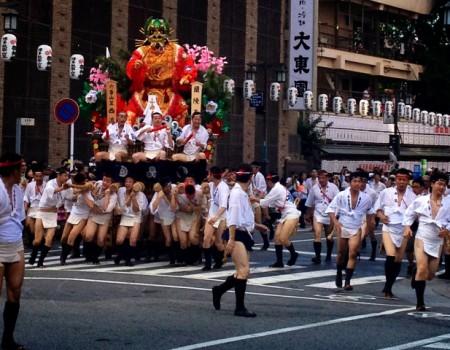 博多、山笠!お祭り衣装から透けてみる文化, Yamagasa Festival@Fukuoka