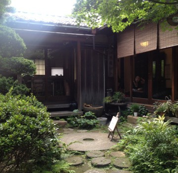 サクサクかき氷と古民家と夏の恋 Japanese old cafe