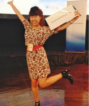 """Won the ticket to the U.S. at the event """"United Taste of America""""!! 大使館の食イベントで、米国往復チケット当選!"""