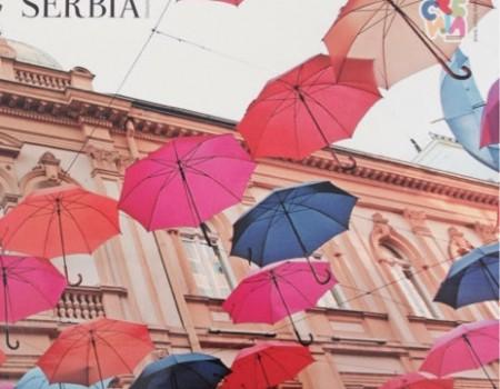 セルビア観光局のカレンダーlifestyleserbiaが素敵すぎる