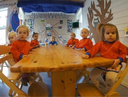 """ノルウェーの保育園ランチ♫""""魚食教育""""をみてきたよ"""