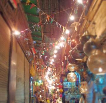 エジプト ハンハーリ市場と食事とラマダン Night market ,food, and Ramadan in Cairo, Egypt