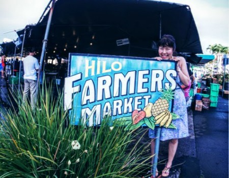Hilo farmer's Market!! ハワイで二番目の都市の地産地消