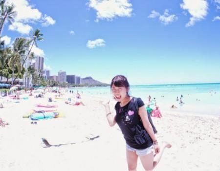 ハワイに着いたよ〜☆!! AmiとHawaiiの関係性