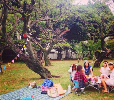今秋初!Morning Picnic