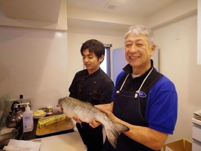 Fish Cooking Session 1♡お魚を捌いて美味しくいただくのだ!鮭を捌いてイクラのしょうゆ 漬け