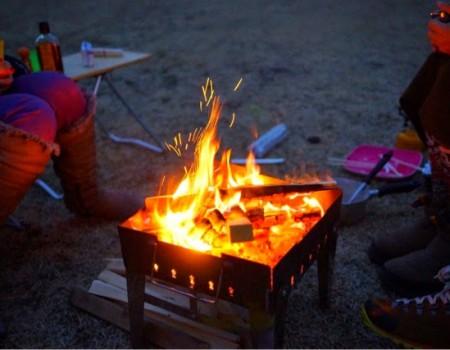 冬の日帰りキャンプ@富士山麓。Winter Day Camp at Mt.Fuji