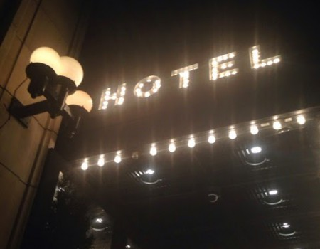 Arrived in New York ! Ace Hotel