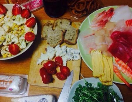 実家の食卓