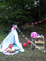 Camping Weekend!1 キャンプ場貸切!自然の中でハッピーピクニックな飾付け