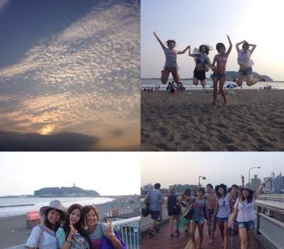 Kamakura Beach summer