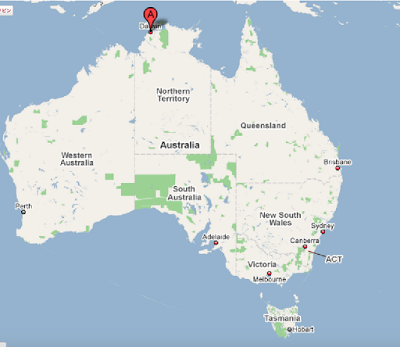 Darwin, Australia オーストラリアのダーウィンにいってきたよ!