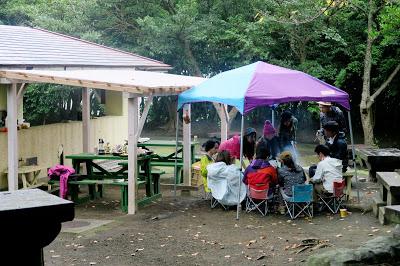 伊豆大島でキャンプ!Camping in the Izu island!