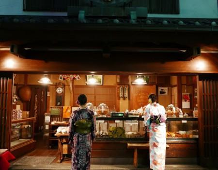 東京下町散策!美味かき氷&串カツFind my Tokyo! 3 :Eat and Walk downtown Tokyo in Kimono.