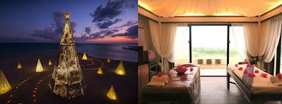 冬に沖縄!? リゾナーレ小浜島のビーチで、ロマンチックなクリスマス