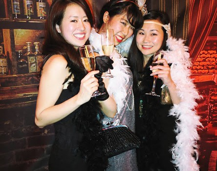 Pinterest Christmas Party 〜1920'sレディになりきる!〜