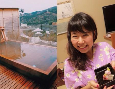 ゆったり湯河原〜通訳案内士目線で見るニッポンの温泉/ First guide to stay at hot spring Hotel in Japan