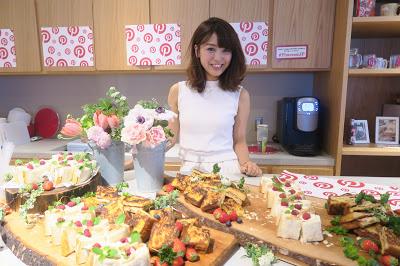 Pinterestでメディアイベントをしたよ 美味しいサンドイッチ付き♥