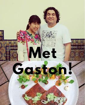 ガストンに会えた!〜彼が尊敬する日本人シェフとは〜 Met Gaston!  〜 the Japanese chef that he respects〜