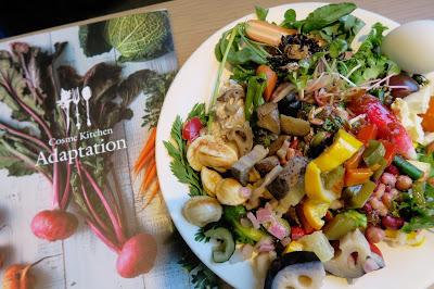 週1ペースで通う、恵比寿の絶品野菜ビュッフェ!Organic Fresh vegi buffet in Ebisu
