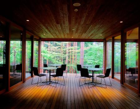 星のや富士: 雨の森とマシュマロと Rain Forest and Mashmarrow at Hoshinoya Fuji