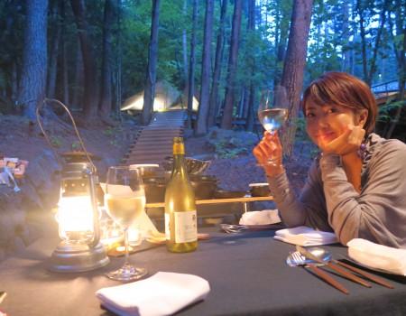 星のや富士!グランピングご飯と、ジレンマ Hoshinoya Fuji Glamping Dinner and thier Dillema
