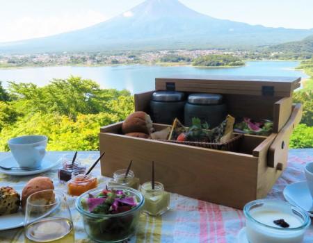 星のや富士にてGlamping Morning!  Hoshinoya Fuji