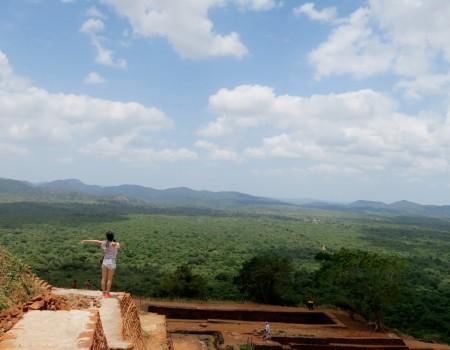 スリランカの壮大な世界遺産!シーギリヤロック Amazing view at Sigiriya Rock, Sri Lanka