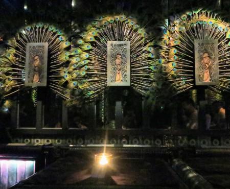 HK's amazing bars 孔雀が、蝶が舞う。香港のミステリーバー
