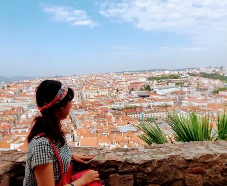恋しちゃったんだ。I fell in love with Portugal