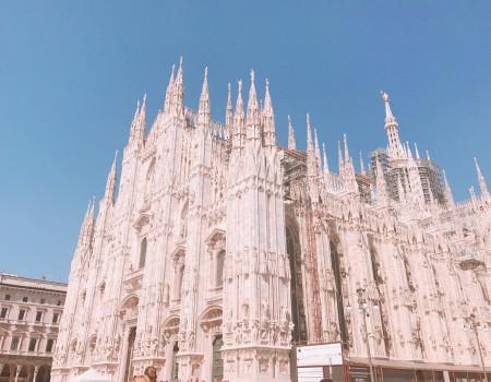 イタリア小さな町ベルガモと、ミラノ観光と、パスタとピザ! BELGAMO & MILAN
