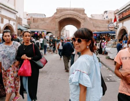 モロッコに到着!まずは癒しの港町エッサウィラの市場へ。Essaouira, Morocco