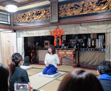 朝から広尾のお寺で哲学を話したよ「手放しすことの大切さ」