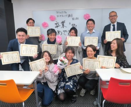 コミュニティマーケティング講座生の2期最終回!発表と、卒業式