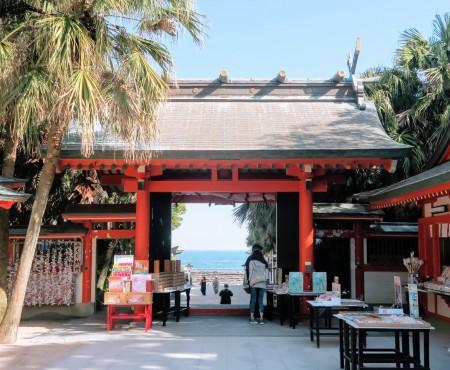 かつてのハネムーンの憧れ、今はお洒落な青島へ Aoshima, popular honeymoon destination in 50's-70's