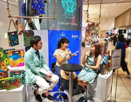 渋谷西武で夏の旅トークイベント 旅のトラブルも百戦錬磨?