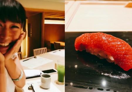 銀座の高級寿司ランチというお・あ・そ・び
