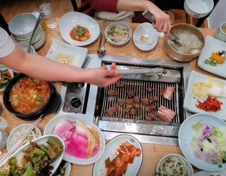 ソウル友達と美味しいご飯 Good foods, friends and family. What more?