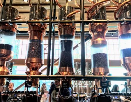 米国シアトル日記 Starbucks Reserve in Seattle