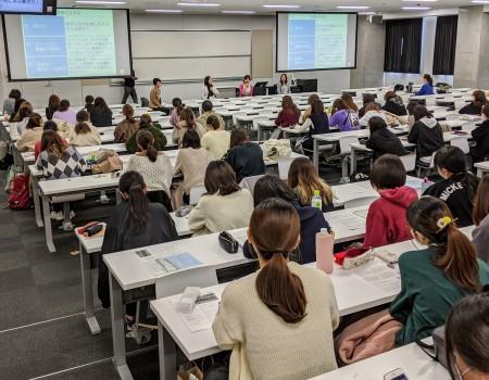 駒沢女子大学でパネル登壇 旅に関わり働く女性として