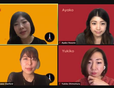 オンラインパネル登壇で今年の葛藤を話したよ〜Connected Women Tokyo