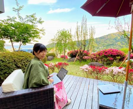 湯河原温泉で一泊ワーケーション レポ Workation at hotspring in Yugawara