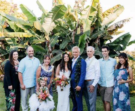 Emily + Jay wedding in Hawaii , May 2019 ハワイの結婚式を思い出す
